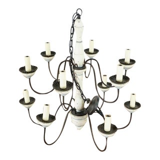 Paul Ferrante Chandelier For Sale