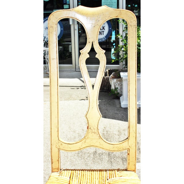 1960s 1960s Vintage Painted Dining Chairs- Set of 8 For Sale - Image 5 of 13
