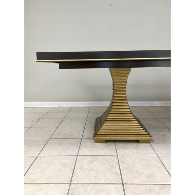 """2010s Bernhardt """"Jet Set"""" Dining Table & 8 Chairs For Sale - Image 5 of 13"""