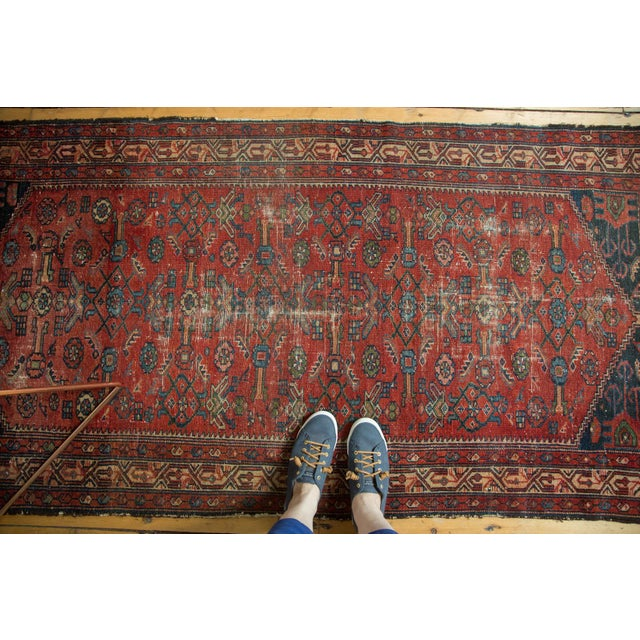 "Islamic Vintage Malaye Runner - 3'4"" X 6'9"" For Sale - Image 3 of 9"