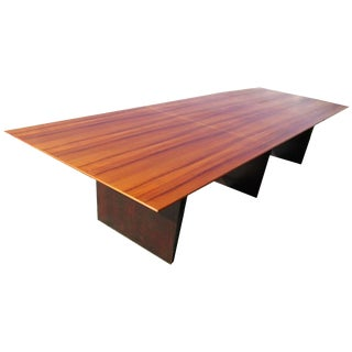 Vintage Wormley Conference or Dining Table for Dunbar For Sale