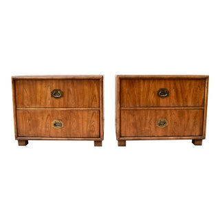 Campaign Chests by Dixie, a Pair For Sale