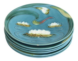 Image of Bottle Green Decorative Plates