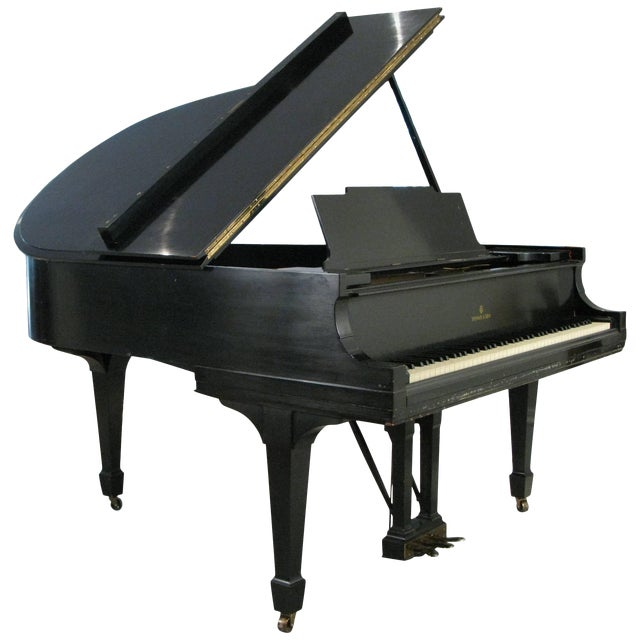 Steinway & Sons 1912 Model M Ebony Piano For Sale