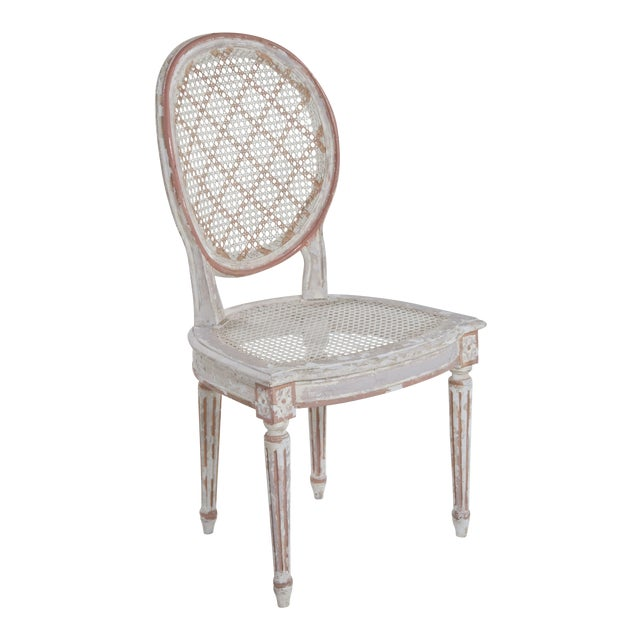 French Caned Chair - Image 1 of 8