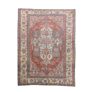 Serapi Persian Rug - 9′5″ × 11′7″ For Sale