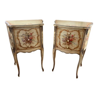 Antique French Tables - A Pair For Sale