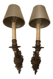 Image of Silver Leaf Sconces and Wall Lamps