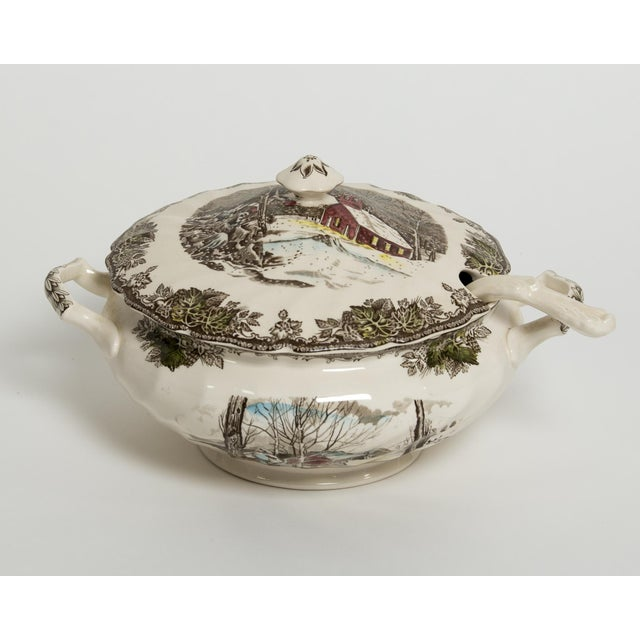 Soup Tureen Friendly Village Set by Johnson Brothers - Image 2 of 5