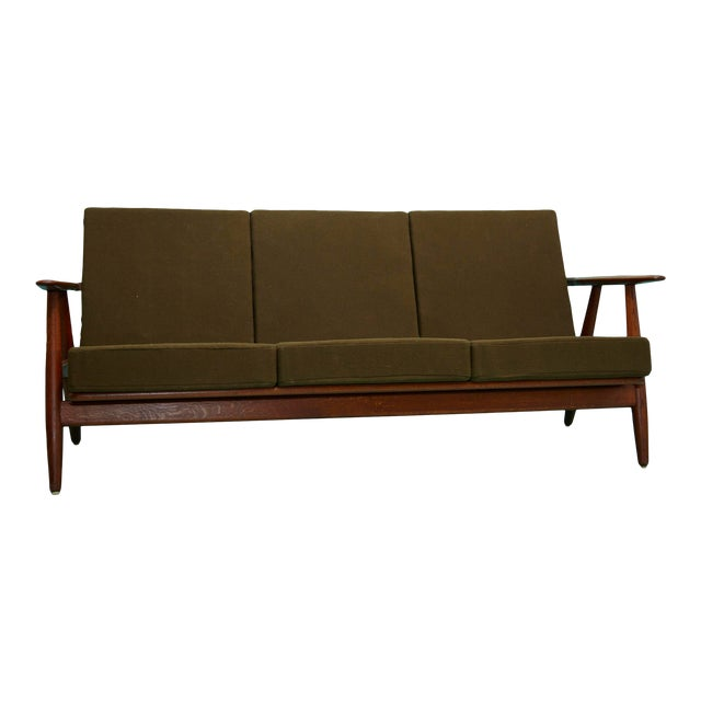 1960s Hans Wegner Cigar Sofa For Sale