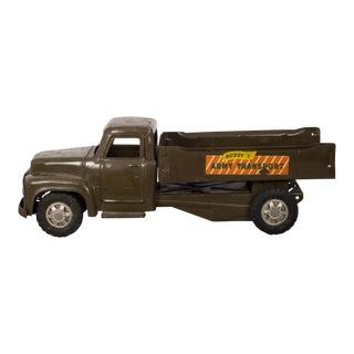 "Die Cast Steel Toy Truck ""Buddy L Army Transport"" C. 1940 For Sale"