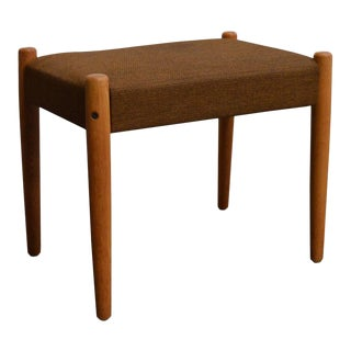 Danish Mid-Century Modern Bench or Footstool For Sale