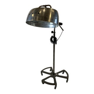 1950s French Industrial Lamp For Sale