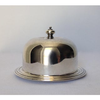 Silverplate Domed Lidded Butter Dish Preview