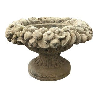 Limestone Fruited Planter For Sale