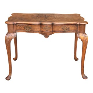 Antique English Chippendale Desk ~ Writing Table For Sale