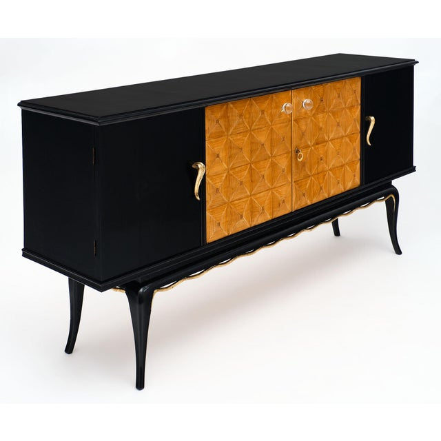 Italian Mid-Century Modern Buffet For Sale - Image 4 of 12