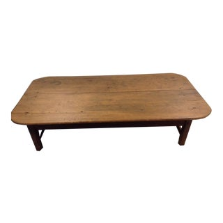 Rustic Wooden Coffee Table For Sale