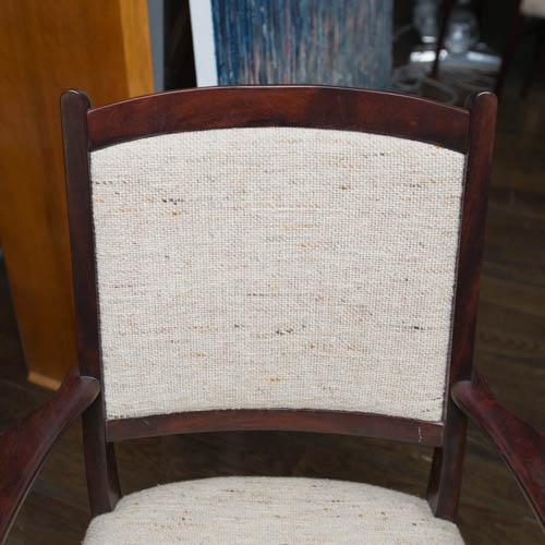Set of Ten Skovby Rosewood Upholstered Dining Chairs For Sale - Image 9 of 9