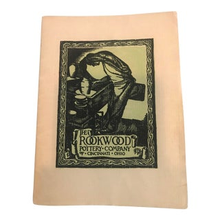 Rookwood Pottery 50th Anniversary Booklet For Sale