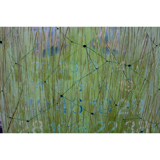A wonderful oil on wood by the noted Los Angeles artist Dawn Arrowsmith. It bears a gallery label on the back and is...