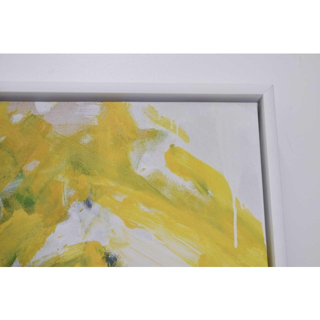 If you like Joan Mitchell art but priced out of budget, this is a great looking piece for you. Beautifully executed,...