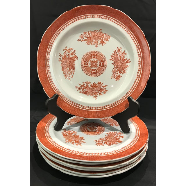 "Set of nine bread and butter plates (8"" diameter), nine salad plates (8 1/2"" diameter), and eight dinner plates (10 3/8""..."