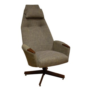 Adrian Pearsall Craft Associates Grey Office Chair