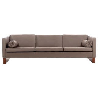 Mies Van Der Rohe Three-Seat Sofa For Sale