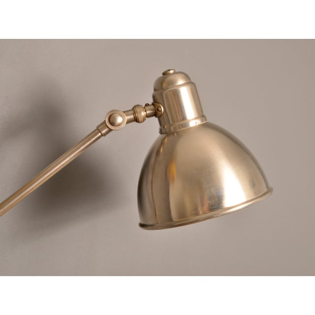 Industrial Bag Turgi Wall Lamp, Switzerland, 1930s For Sale - Image 3 of 9