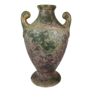 Vintage Burley-Winter Urn Style Vase With Handles
