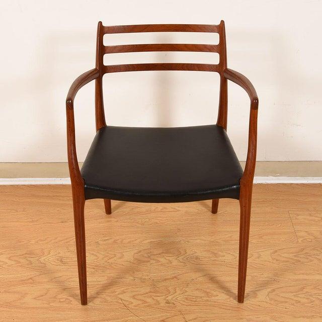 Niels Moller Møller Danish Modern Teak Dining Chairs- Set of 4 For Sale - Image 4 of 10