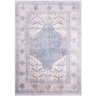 Momeni Helena Mirai Denim 5' X 8' Area Rug For Sale