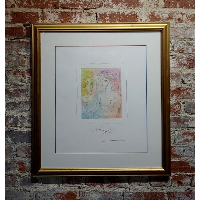 Peter Max - Homage to Pablo Picasso -Original Color Etching For Sale - Image 9 of 9