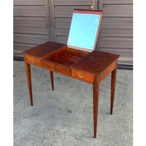 Swedish Mid-Century Modern Vanity by David Rosen for Nk Stockholm, Circa 1950 For Sale - Image 12 of 12