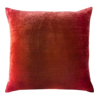 Wildberry Ombre Velvet Pillow