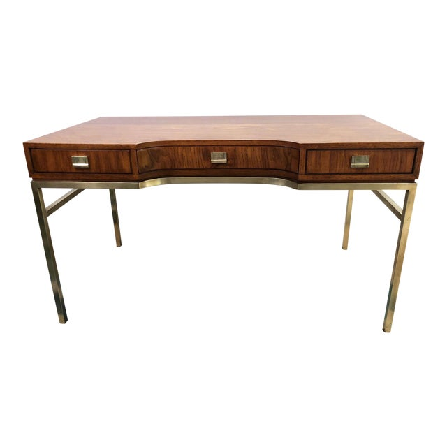 Drexel Consensus Campaign Writing Desk For Sale