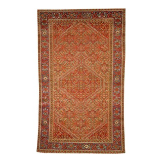 Antique Persian Mishan Malayer Rug with Modern Design