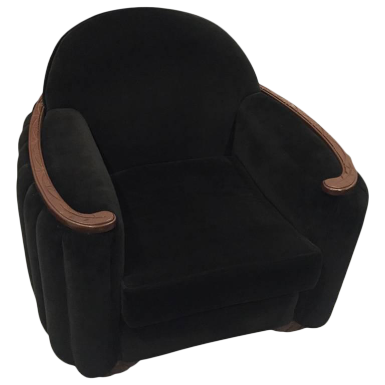 American Art Deco Sofa And Club Chair   Image 1 Of 10