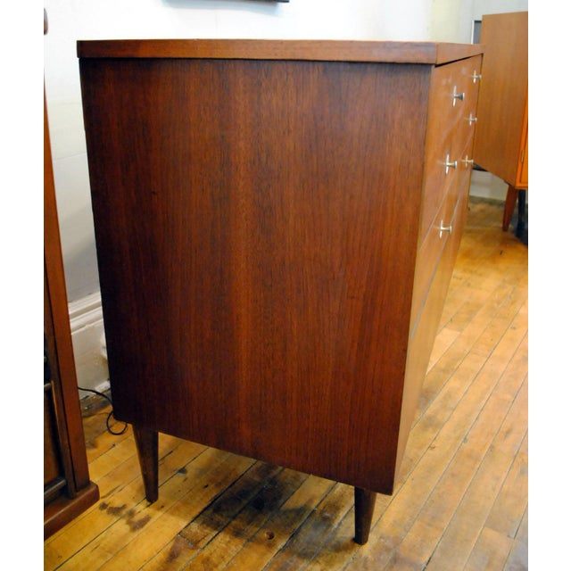 Mid-Century Modern Mid Century Walnut Low Dresser by Basset 1960's For Sale - Image 3 of 10