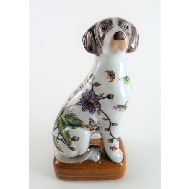 Chinoserie Porcelain Dog Statue For Sale - Image 12 of 12
