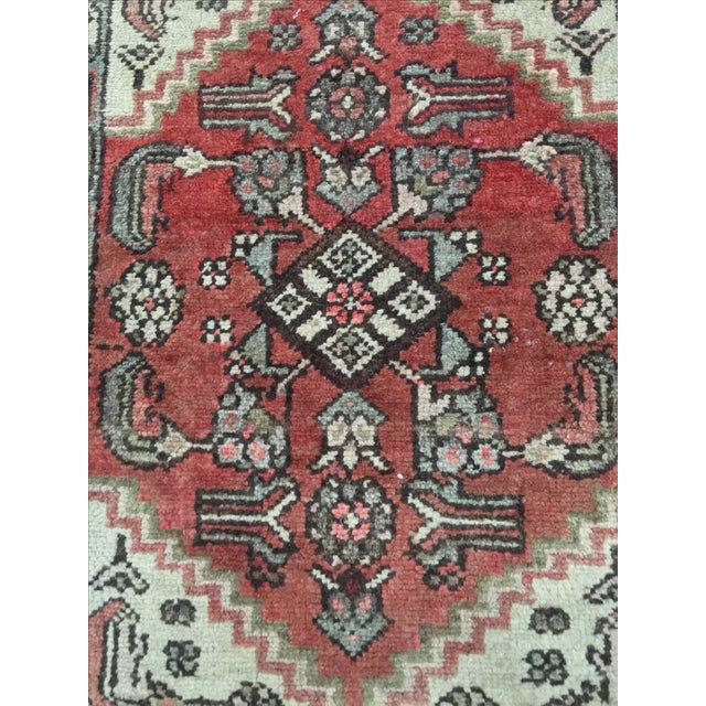 Hamadan Persian Rug - 1′9″ × 2′5″ - Image 4 of 9