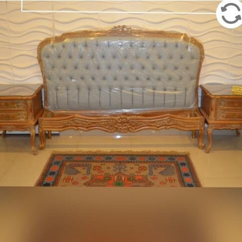 French Style Handmade Bed For Sale - Image 9 of 10
