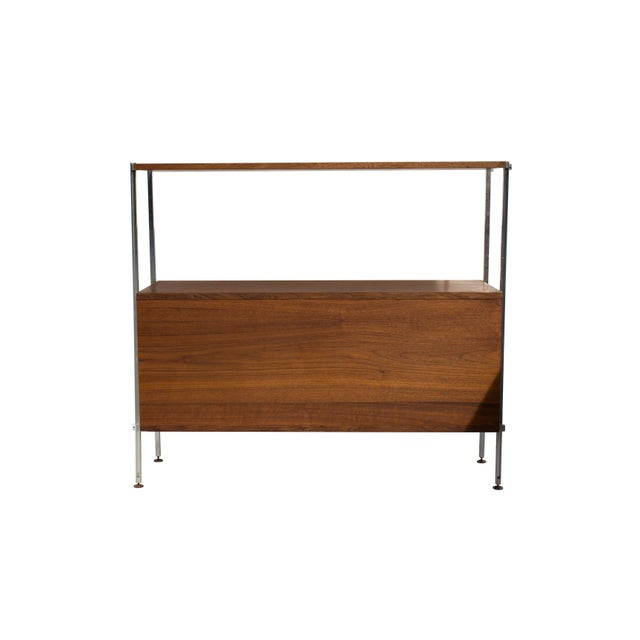 Walnut and Aluminum Cabinet by Hugh Acton For Sale - Image 10 of 13