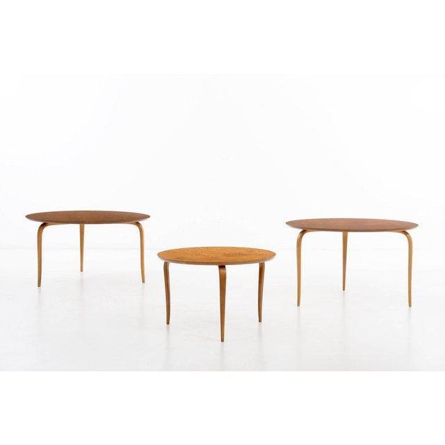 Bruno Mathsson Side Table For Sale In New York - Image 6 of 7