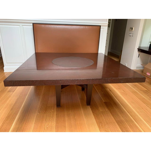 Wood Custom-Made Wooden Kitchen Table For Sale - Image 7 of 7