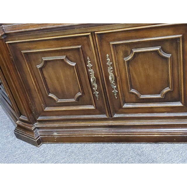 Vintage China Cabinet For Sale - Image 9 of 13