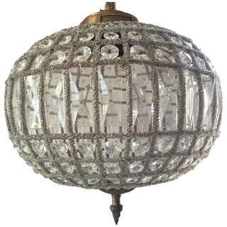 Petite Sphere Ball Chandelier For Sale