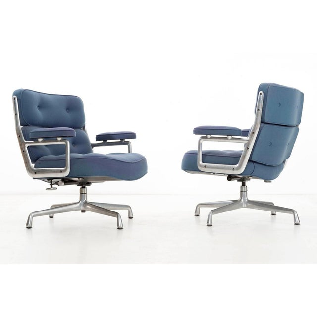 Time Life Lounge Chairs by Charles Eames for Herman Miller For Sale - Image 5 of 9