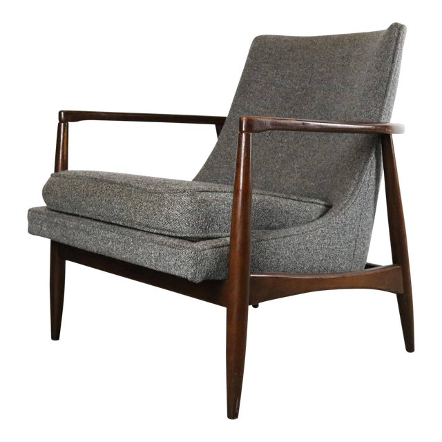 Mid-Century Lounge Chair For Sale